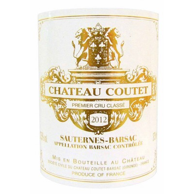 Chateau Coutet 2012 (0,375l)