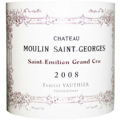 Chateau Moulin St. Georges 2008