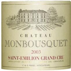 Chateau Monbousquet 2003