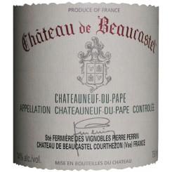Chateau de Beaucastel Châteauneuf-du-Pape rouge 2004