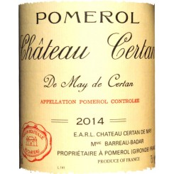 Chateau Certan de May 2012