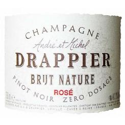 Champagne Drappier Brut Nature Rosé