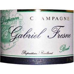 """Gabriel Fresne Champagne """"Diapason"""" brut tradition"""