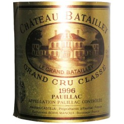 Chateau Batailley 1996 (Etikett)