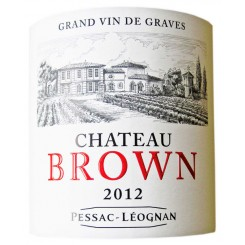 Chateau Brown blanc 2012