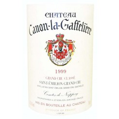 Chateau Canon La Gaffelière 1999 - Etikett