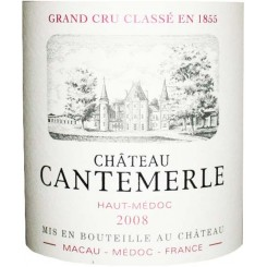 Chateau Cantemerle 2008