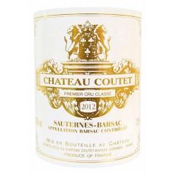 Chateau Coutet 2012 - Halbflasche - Etikett