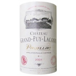 Chateau Grand Puy Lacoste 2001