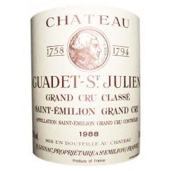 Chateau Guadet 1988
