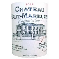 Chateau Haut Marbuzet 2012