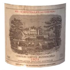 Chateau Lafite-Rothschild 1973 - Etikett