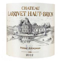 Chateau Larrivet Haut Brion 2001 rot