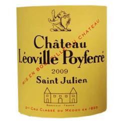 Chateau Leoville Poyferre 2009 Etikett