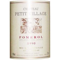 Chateau Petit Village 1990
