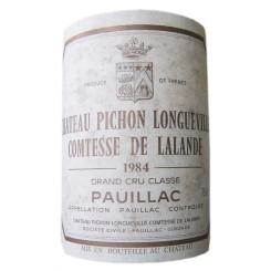 Chateau Pichon Comtesse 1983 Etikett