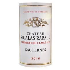 Chateau Sigalas Rabaud 2016 (0,375l)