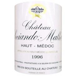 Chateau Sociando Mallet 1996