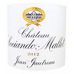 Chateau Sociando Mallet 2012