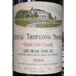 Chateau Troplong Mondot 1988