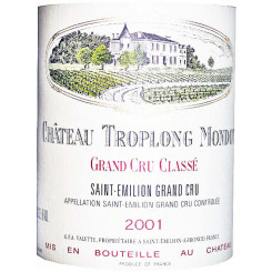 Chateau Troplong Mondot 2001