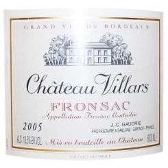 Chateau Villars 2009