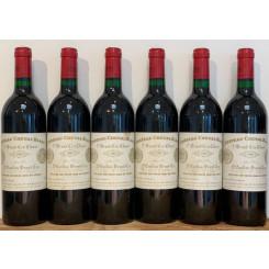 Chateau Cheval Blanc 1989 Etikett