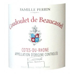Chateau de Beaucastel Cotes du Rhone Coudoulet blanc 2015