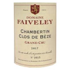 Domaine Faiveley Chambertin-Clos de Bèze Grand Cru 2017