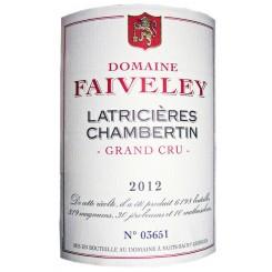 Domaine Faiveley Latricières-Chambertin Grand Cru 2012