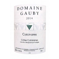 Domaine Gauby Les Calcinaires blanc 2014