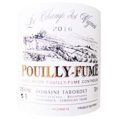 Pouilly Fumé Domaine Tabordet 2014