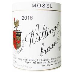 Egon Müller Wiltinger Braune Kupp Spätlese 2011
