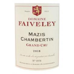 Domaine Faiveley Mazis-Chambertin Grand Cru 2018