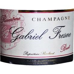 Gabriel Fresne Champagne brut rosé