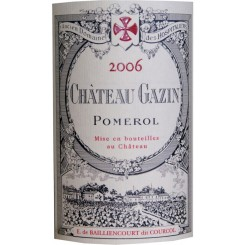 Chateau Gazin 2006