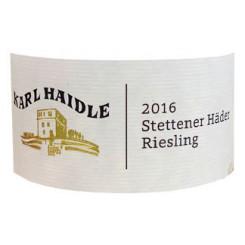 Haidle Stettener Riesling Schilfsandstein 2014
