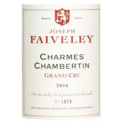 Joseph Faiveley Charmes-Chambertin Grand Cru 2016