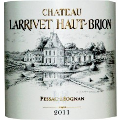 Chateau Larrivet Haut Brion 2000 rot