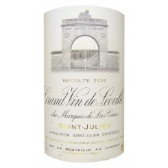 Chateau Leoville Las Cases 2000 (Etikett)