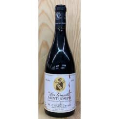 Les Granits Saint-Joseph M. Chapoutier 1996 (Etikett)