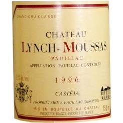 Chateau Lynch-Moussas 1996