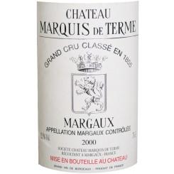 Chateau Marquis de Terme 2000