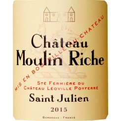 Chateau Moulin Riche 2015