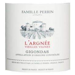 Famille Perrin Gigondas L'Argnée Vieilles Vignes 2016 - Etikett