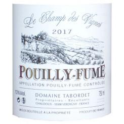 Pouilly Fumé Domaine Tabordet 2014