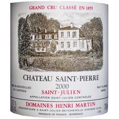 Chateau Saint Pierre 2000