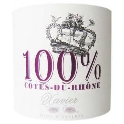 Xavier Côtes du Rhône 100% 2012