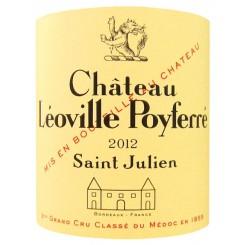 Chateau Leoville Poyferre 2012 - Etikett