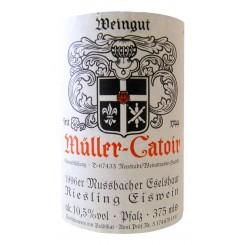 """Weingut Müller-Catoir """"Mussb. Eselshaut"""" Riesling Eiswein 1996"""